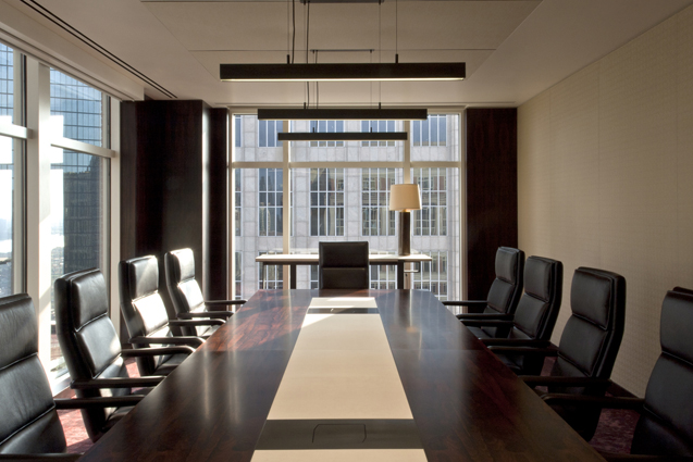 investment firm conference room