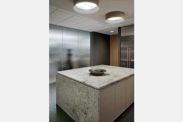 stone corporate kitchen island