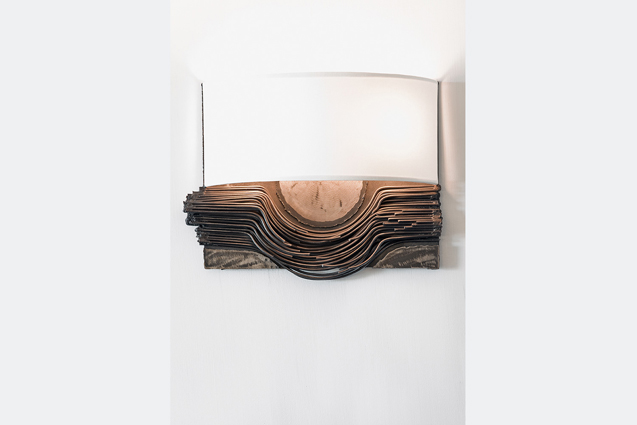 custom metal wall sconce available for sale
