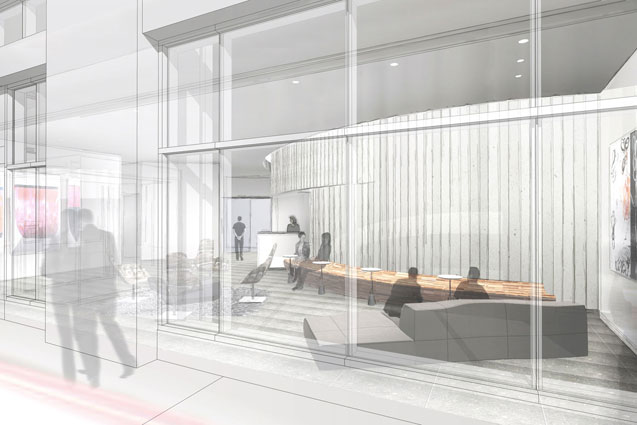 Entry rendering Radian Boston