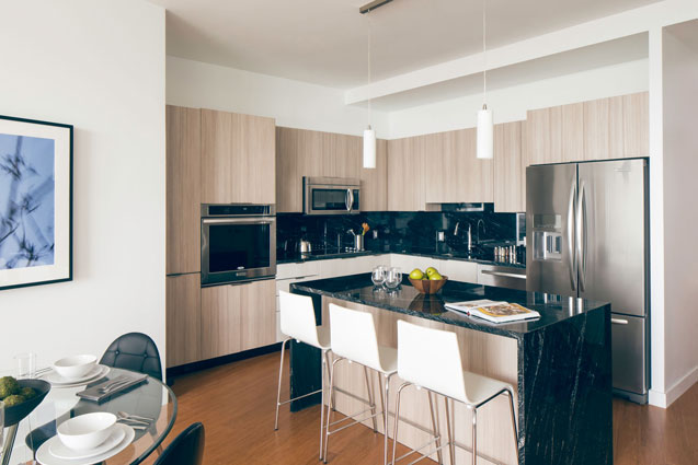 radian boston residence kitchen
