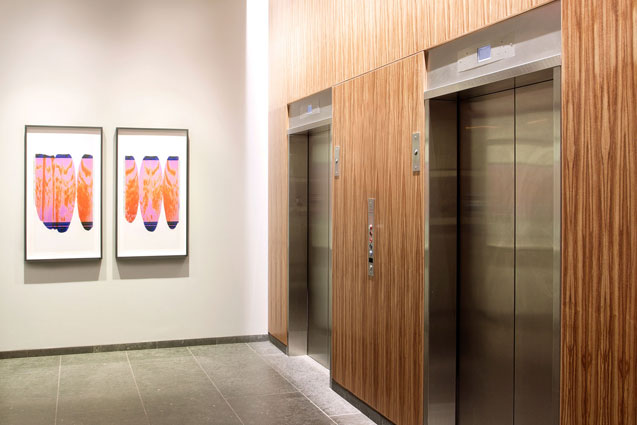 radian boston elevator lobby art ellen carey